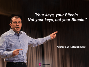 Your keys your bitcoin cryptocurrecy safety andreas antonop