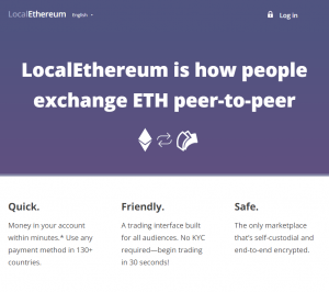 Local Ethereum buy eth with paypal