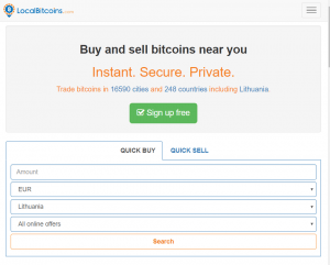 Buy BTC with PayPal LocalBitcoins