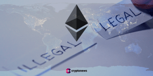 countries where ethereum is legal or banned