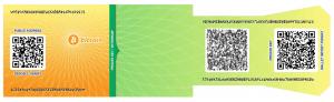 آموزش ایجاد کیف پول کاغذی بیت کوین