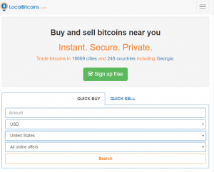 how to sell bitcoin local bitcoins