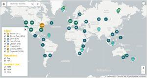 bitcoin atm map with cash