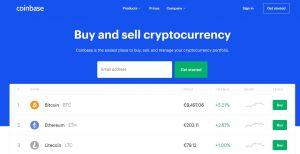 Coinbase buy btc in the US