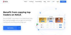 Social trading crypto Naga
