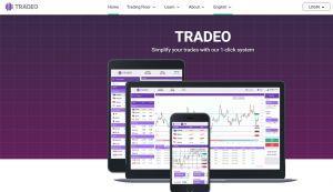 Crypto social trading Tradeo