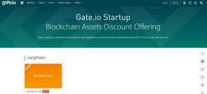 Gate.io Startup IEO lauchpad