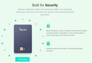 Keycard wallet review