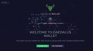 daedalus wallet cardano