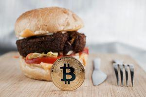 buy food with bitcoin
