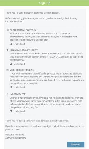 Bitfinex How To