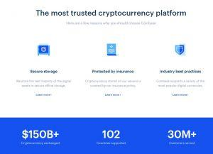 Coinbase review stats