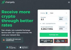 Buy bitcoin with Changelly