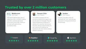Changelly customer reviews