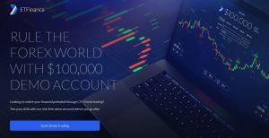 ETFinance review demo account