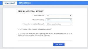 ETFinance review open account