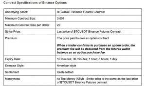 Binance review Binance options