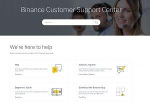 Binance review customer support