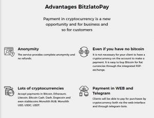 Bitzlato pay advantages