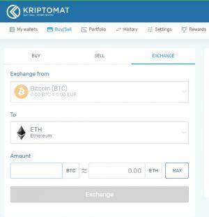 Kriptomat review exchange