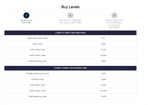 Xcoins review limits