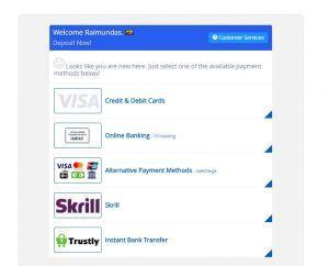 101Investing Review deposit methods