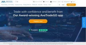 Avatrade review homepage