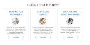 AvaTrade review education