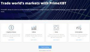 PrimeXBT assets