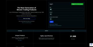 BitMEX trading account