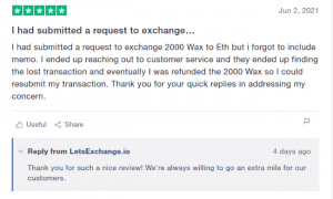 letsexchange review 2