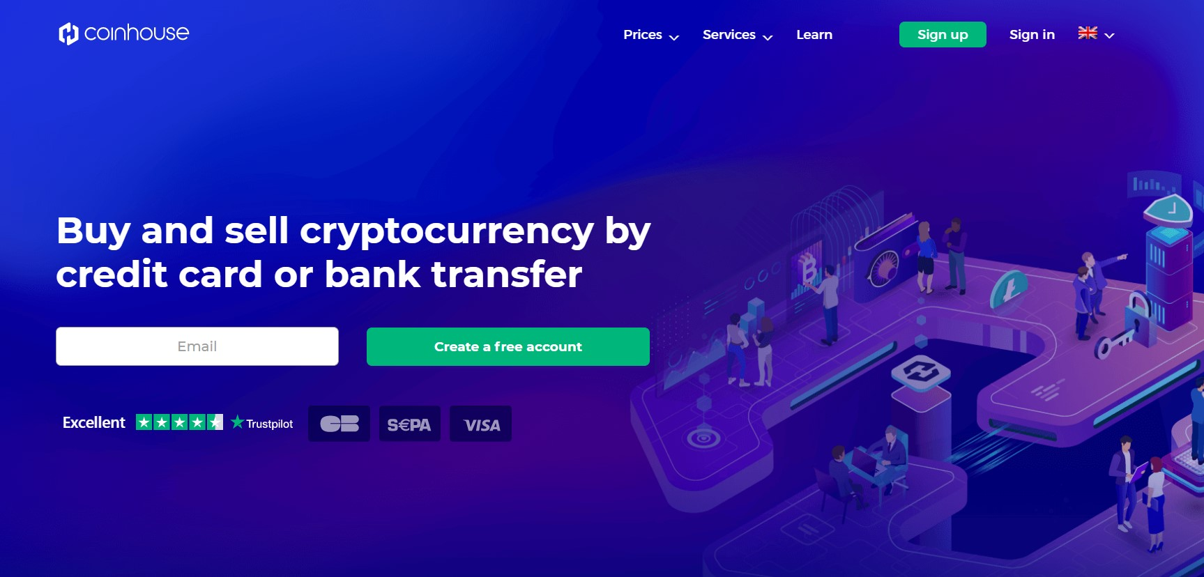 cheapest trading platform to buy cryptocurrency with credit card