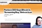 Cryptonews Roundup #6 - Vitalik Boykott, Pantera CEO [EN]
