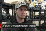Le Québec attire les mineurs de bitcoins