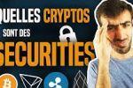 Bitcoin : Quelles cryptos sont des sécurities ? EOS, TRX & XRP ?