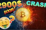 BITCOIN 2900$ CATASTROPHE !!!???