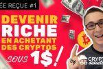 Idée Reçue #1 - Devenir riche en achetant des cryptos sous 1$ !