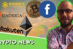 Binance DEX | Facebook crypto | Neutrino | QuadrigaCX & Silk Road | Constantinople