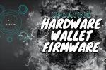 Updating Hardware Wallet Firmware
