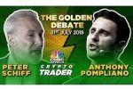 Il dibattito Gold contro Bitcoin: Anthony Pompliano vs Peter Schiff