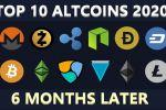 TOP 10 ALTCOINS 2020 + DeFi 6 MOIS PLUS TARD !