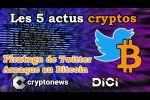 Les 5 actus cryptos de la semaine (13 au 17 juillet 2020) de Cryptonews.