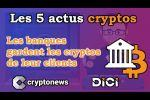 Les 5 actus cryptos de la semaine de Cryptonews (18 au 24 juillet 2020).
