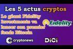 Les 5 actus cryptos et blockchain de la semaine (Bitcoin, DeFi, Aave, Samsung, Darknet...