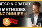 Bitcoin Gratuit : 5 Méthodes Inconnues - 200€ Gratuit ?