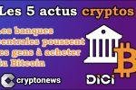 Les 5 actus cryptos, DeFi et blockchain de la semaine (Binance, Bitcoin, Chine, Twitter, Ulysse)