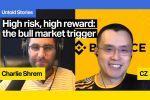 Hoog risico hoge opbrengst: CZ van Binance op de bullmarkttrigger