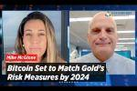 Bitcoin Set to Match Gold's Risk Measures by 2024 - Mike McGlone