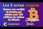 Les 5 actus cryptos de la semaine: Bitcoin, Reddit, Ethereum, Silk Road, Genesis...