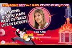 Blockchain to Solve Global Problems - EP Member Eva Kaili